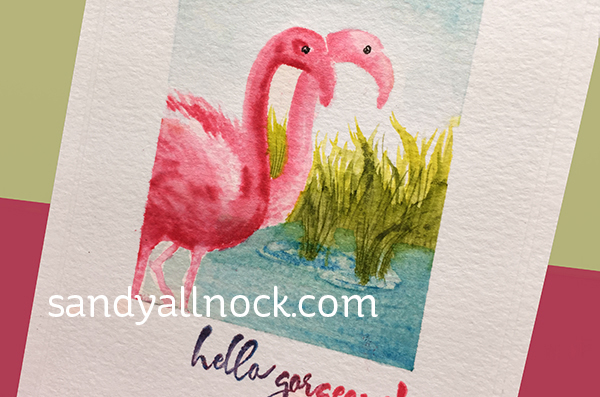 Sandy Allnock - Color Layer Flamingo