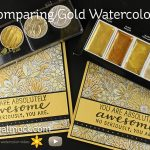 Comparing Gold Watercolor