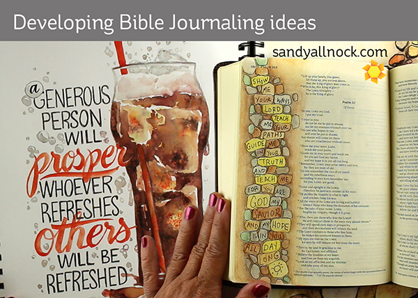 Developing Bible Journaling ideas