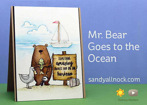 Sandy Allnock MrBear Goes to Ocean
