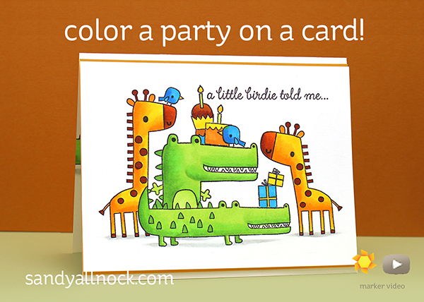 Party on a card!