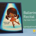 Ballerina Recital – Stamp Anniething