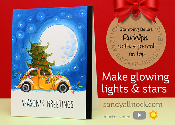 Christmas Bug: Make glowing lights and stars