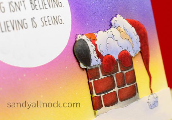 Sandy Allnock santa is stuck
