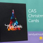 Clean and Simple Christmas Cards – Ellen Hutson Bloghop