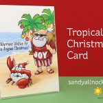 Tropical Christmas Card