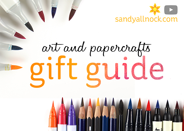 Art and Papercrafting Gift Guide 2016