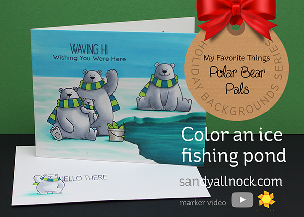 Color an Ice Fishing Pond – MFT Polar Bear Pals