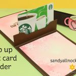 Popup Gift Card Holders