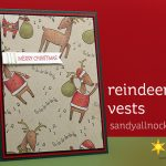 Reindeer Vests card