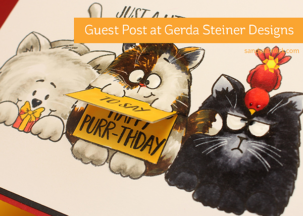 Copic Coloring Cats – Gerda Steiner