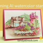 Aligning Art Impressions Watercolor Stamps