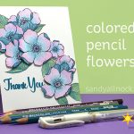Adore You: Colored Pencil Flowers