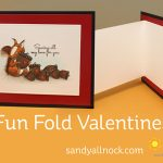 Fun Fold Valentines (with squirrels!)