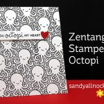 Zentangle Stamped Octopi