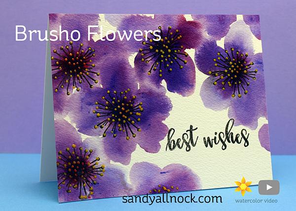 Brusho Flowers: Concord & 9th Pretty Petals