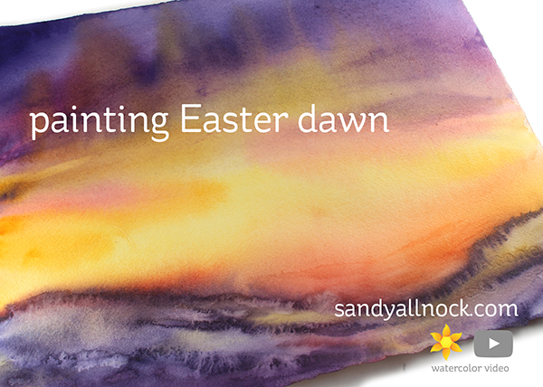 Painting Easter Dawn
