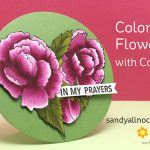 Coloring Flowers with Copics