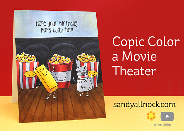 Copic Color a Movie Theater