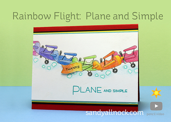 Rainbow Flight: Plane and Simple