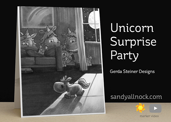 Unicorn Surprise Party – Gerda Steiner Designs