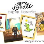 Heffy Doodle Bloghop and Kickstarter