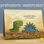 Prehistoric Watercolor: No tomorrow (plus a winner!)