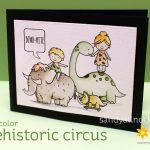 Prehistoric Circus – Neat & Tangled card