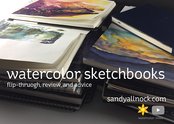 Watercolor Sketchbook Flip-through, Review, and Advice
