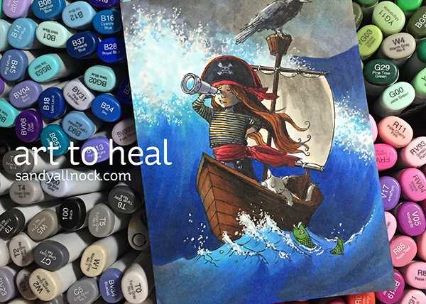 Art to heal: natural disasters