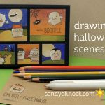 Drawing Faboolous Halloween Scenes