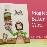 Essentials by Ellen: Interactive Magical Baker Card
