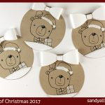 24 Tags of Christmas 2017: Simply Folksy Bears