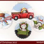 24 Tags of Christmas 2017: Layered Images, Purple Onion