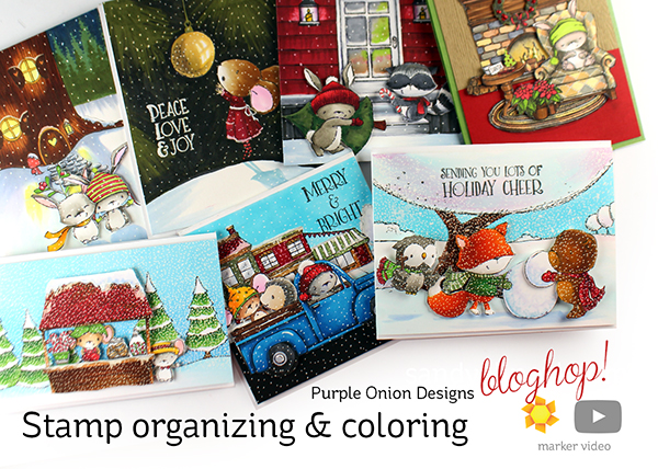 Purple Onion Bloghop + Black Friday Sales