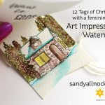 R2C Day4: 12 Tags of Christmas with a Feminine Twist – AI Watercolor