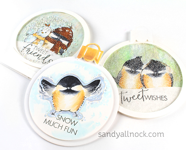 R2C Day2: 12 Designers of Christmas – Snowbird Chickadees