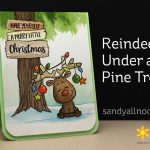 Reindeer Under a Pine Tree – Gerda Steiner Designs