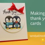 R2C Day9: Making Thank You Cards