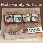 Mole Family Portraits Card