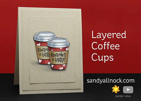 Layered Coffee Cups – Avery Elle, Cool Beans