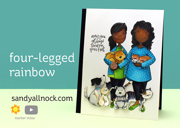 Four Legged Rainbow: Leading Cat Lady and Dog Lady