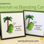 RAWR! Neenah vs Blending Card