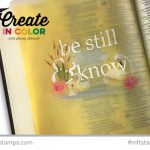 Guest Video at MFT: Colored pencil on vellum (Bible Journaling)