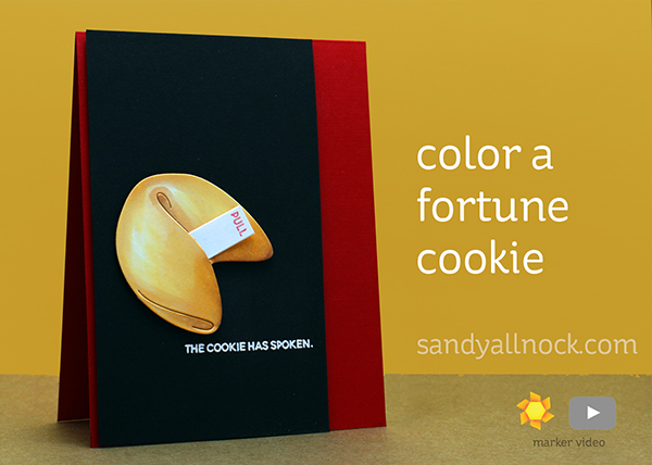 Color a Fortune Cookie