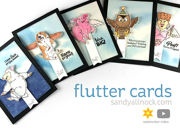 AI Interactive Series #4: Five Flutter Cards