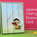 Japanese Cherry Blossom Card – So Matcha