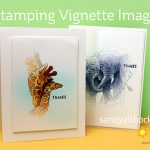 Stamping Vignette Images: Elephants and Giraffes