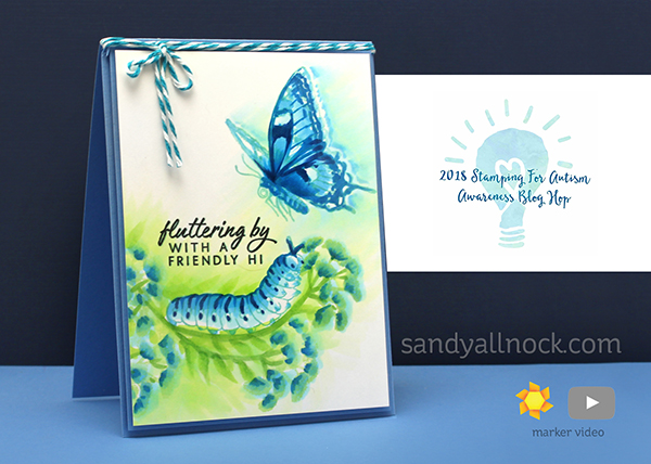 Bloghop: 2018 Stamping for Autism Awareness