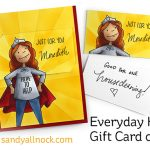 Everyday Hero Gift Card card